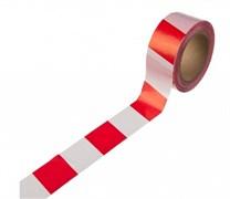 Лента сигнальная Зубр Мастер, 75ммx200м, бело-красная