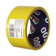 Лента клейкая (скотч) UNIBOB 55750, 48/24, 45мкм, желтый