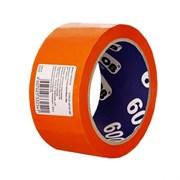 Лента клейкая (скотч) UNIBOB 55754, 48/24, 45мкм, оранжевый