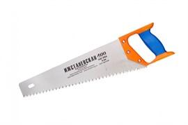 Ножовка ИЖ Премиум по дереву, 400мм, шаг 5мм, двухкомпонентная пластиковая ручка