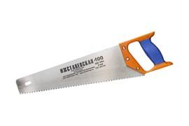 Ножовка ИЖ Премиум по дереву, 400мм, шаг 4мм, двухкомпонентная пластиковая ручка