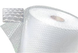 Пленка воздушно-пузырьковая, 60мкм, 1.2м, 2-слойная, в рулоне 100м, на метраж