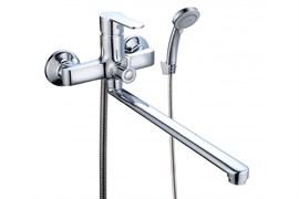 Смеситель для ванны BOOU B8289-18F, однорычажный, картридж 35мм, латунь, хром