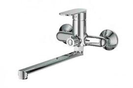 Смеситель для ванны LEDEME L2210, излив 300мм, дивертор в корпусе, латунь