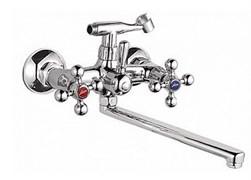 Смеситель для ванны LEDEME L2319, излив 300мм, цинк