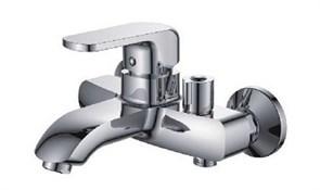 Смеситель для ванны LEDEME L3243, короткий излив, с боковым шаровым переключателем в корпусе, цинк