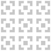 Панель перфорированная (лист) ХДФ Дамаско, 695х1030мм, белый
