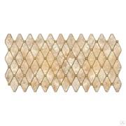 Панель листовая Топаз коричневый, 488х975х0.4мм, мозаика, ПВХ