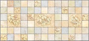 Панель листовая Урожай, 488х975х0.4мм, мозаика, ПВХ