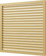 Решетка (экран) радиаторная врезная ПВХ, 600х600мм, бежевая