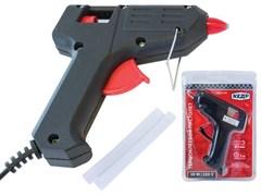 Пистолет клеевой (термопистолет) КЕДР 52-104, диаметр клеевого стержня 11мм, 40Вт, 220В