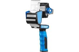 Пистолет для клеящих лент (скотча) ЗУБР ПРОФЕССИОНАЛ, в металлическом корпусе, с двухкомпонентной ручкой, ширина ленты до 50мм