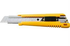 Нож высокопрочный OLFA OL-EXL, с автофиксатором, 18мм