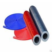 Утеплитель для труб из вспененного полиэтилена ПВД 18x4мм. синий, рулон 6м