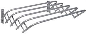 Сушилка для белья настенная (гармошка) Nika СН60, 60x45x18.5см, 3м, серебро, металл