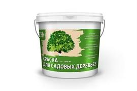 Краска Krafor Альфа для садовых деревьев, 1.2кг, белая