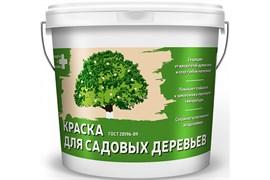 Краска Krafor Альфа для садовых деревьев, 2.7кг, белая