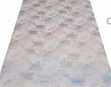 Клеенка столовая LASER 5707В, 80см, ПВХ, прозрачная с печатью