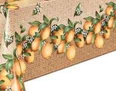 Клеенка столовая Декорама 225А, 140см, ПВХ, декоративная