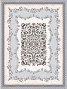 Скатерть-клеенка столовая Декорама 406В, 115x150см, ПВХ, декоративная