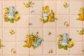 Клеенка столовая Колорит 419-2, 130см, ПВХ на флизелине, декоративная