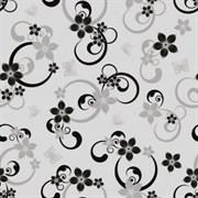 Клеенка столовая Престиж 3903D, 140см, прозрачная с печатью