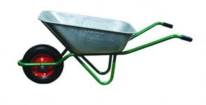 Тачка строительная Korona 31.110.220, одноколёсная, 110л, грузоподъемность 220кг, колесо с подшипником 4.00-8