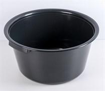 Таз хозяйственный М6222 Эконом, 18л, пластиковый, круглый, микс