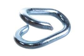 Соединитель цепи, 3мм, оцинкованная сталь
