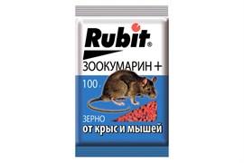 Средство для борьбы с крысами и мышами Rubit Зоокумарин, зерно, 100г