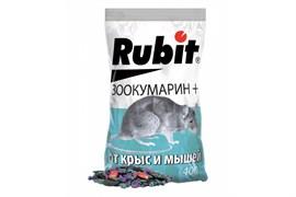 Средство для борьбы с крысами и мышами Rubit Зоокумарин, зерновая смесь, 400г