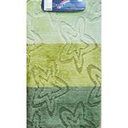 Коврик в ванную Санакс 00213 SILVER, 60х100см, одинарный, полиэстер, зеленый