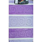 Коврик в ванную Санакс 00217 SILVER, 60х100см, одинарный, полиэстер, фиолетовый