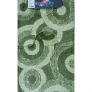Коврик в ванную Санакс 00252 CLASSIK MULTI, 55х90+45х55см, двойной, полиэстер, зеленый