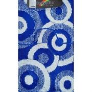 Коврик в ванную Санакс 00254 CLASSIK MULTI, 55х90+45х55см, двойной, полиэстер, синий
