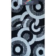 Коврик в ванную Санакс 00255 CLASSIK MULTI, 55х90+45х55см, двойной, полиэстер, черный