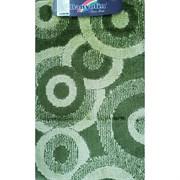 Коврик в ванную Санакс 00260 CLASSIK MULTI, 55х90см, одинарный, полиэстер, зеленый