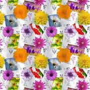 Штора для ванной комнаты Санакс 01-36, Полевые цветы