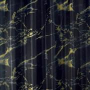 Штора для ванной комнаты Санакс 01-70, Черный мрамор