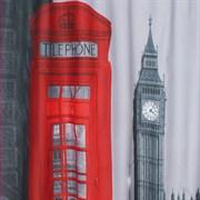 Штора для ванной комнаты 02-02 BRIMIX Лондон