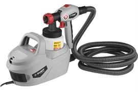 Краскораспылитель/краскопульт Зубр КПЭ-650, электрический, 700мл/мин, вязкость краски 60 DIN, 0.8л, 650Вт