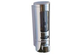 Дозатор жидкого мыла GFmark 629, 300мл, круглый, пластиковый, хром