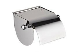 Держатель для туалетной бумаги Haiba HB501, с крышкой, настенный, металлический