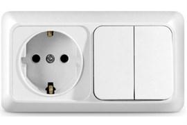 Блок питания для питания антенн AC/DC, 12В, 0.1А, с регулируемым выходным напряжением