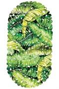 Коврик СПА 14-160, 67x36см, Листья, виниловый