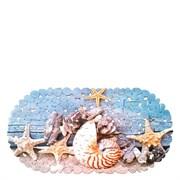 Коврик СПА 14-138, 67x36см, Морской, виниловый