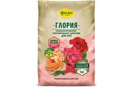 Удобрение минеральное для роз Глория Фаско, гранулированное, 1кг