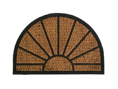 Коврик напольный Солнце, 40x60см, кокосовый на резиновой основе FМR