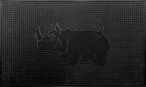 Коврик напольный АМ Носорог, 45х75см, резиновый