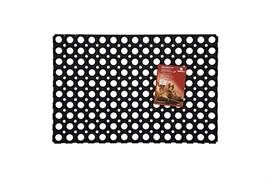 Коврик ячеистый грязесборный RH, 40x60см, 22мм, черный, резиновый